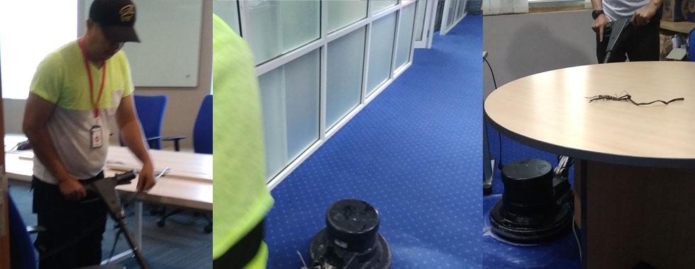 cuci katrpet kantor