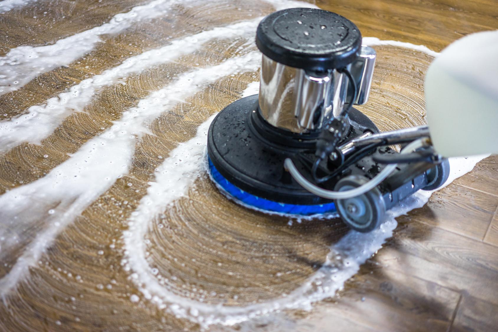 Hardwood Floor Cleaning Jakarta